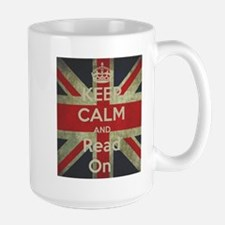Keep Calm and Read On Mugs