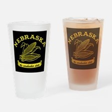 Nebraska Drinking Glass