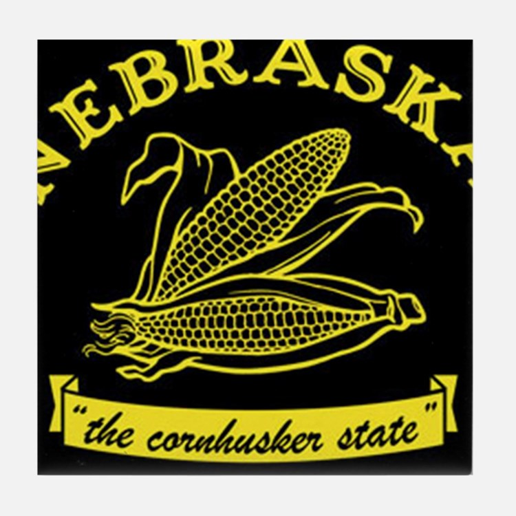 Nebraska Tile Coaster