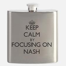 Funny I love steve nash Flask