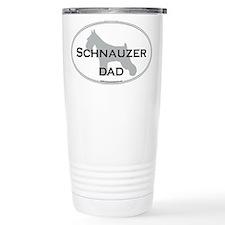 Cute Schnauzer dad Travel Mug