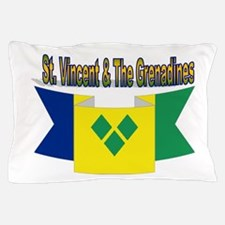 St Vincent & The Grenadines Pillow Case