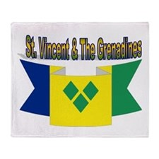 St Vincent & The Grenadines Throw Blanket