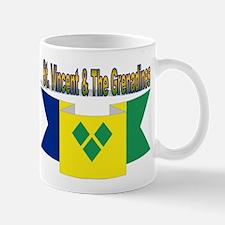 St Vincent & The Grenadines Mug Mugs