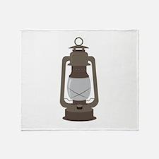 Camp Lantern Throw Blanket