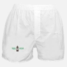 Happy Camper Boxer Shorts