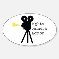 Camera Action Decal