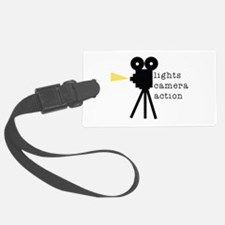 Camera Action Luggage Tag