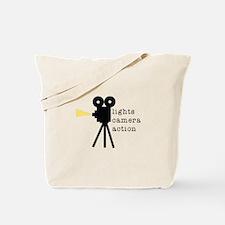 Camera Action Tote Bag