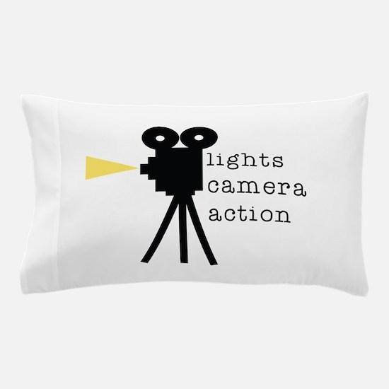 Camera Action Pillow Case