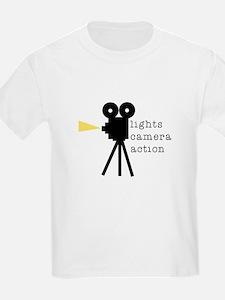 Camera Action T-Shirt