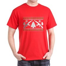 Funny AK47 Ugly Holiday Sweater T-Shirt