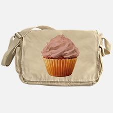 Cream Filled Messenger Bag
