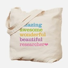 Awesome Researcher Tote Bag