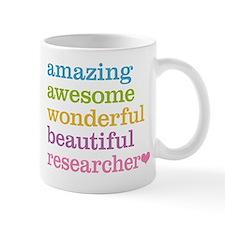 Awesome Researcher Small Small Mug