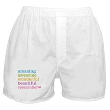 Awesome Researcher Boxer Shorts