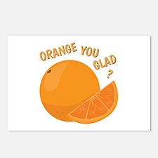 Orange You Glad Postcards (Package of 8)