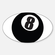 8 Ball Decal