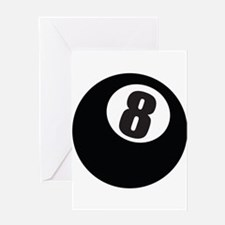 8 Ball Greeting Cards