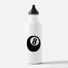 8 Ball Sports Water Bottle