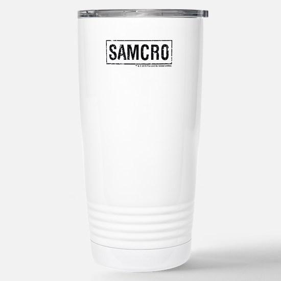 SAMCRO Stainless Steel Travel Mug