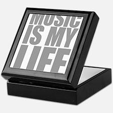 Music Is My Life Keepsake Box