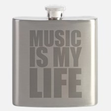 Music Is My Life Flask