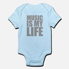 Music Is My Life Body Suit