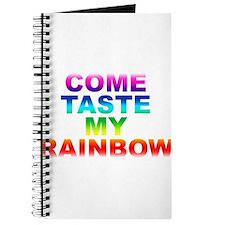 Come Taste My Rainbow Journal