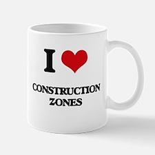I love Construction Zones Mugs
