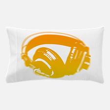 DJ Headphones Pillow Case