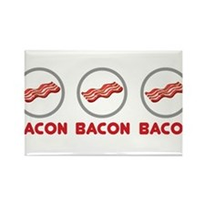 Bacon Bacon Bacon Magnets
