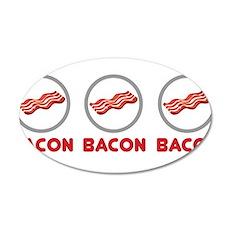 Bacon Bacon Bacon Wall Sticker