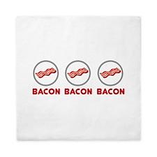 Bacon Bacon Bacon Queen Duvet