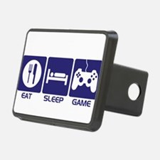 Eat Sleep Game Hitch Cover