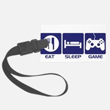 Eat Sleep Game Luggage Tag