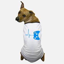 Gamer Heartbeat Dog T-Shirt