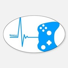 Gamer Heartbeat Decal