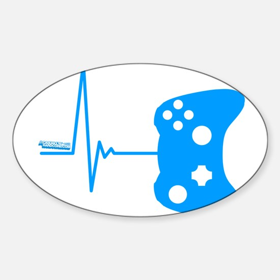 Gamer Heartbeat Decal