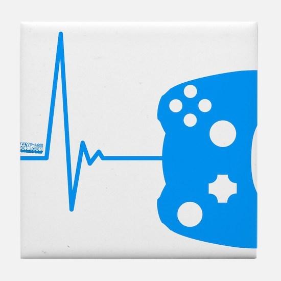 Gamer Heartbeat Tile Coaster