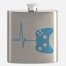 Gamer Heartbeat Flask