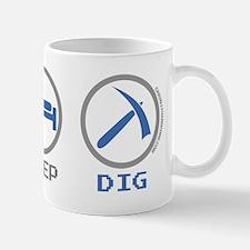 Eat Sleep Game Dig Mugs