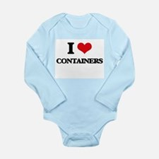 I Love Containers Body Suit