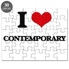 I love Contemporary Puzzle