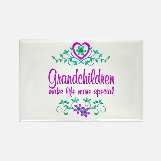 Special Grandchildren Rectangle Magnet