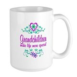 Grandchildren Large Mugs (15 oz)