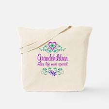 Special Grandchildren Tote Bag