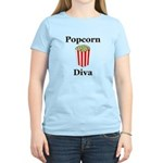 Popcorn Diva Women's Light T-Shirt
