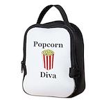 Popcorn Diva Neoprene Lunch Bag
