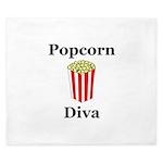 Popcorn Diva King Duvet